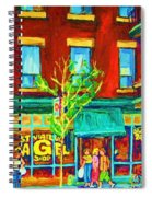 St Viateur Bagel Shop Spiral Notebook