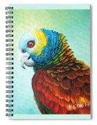 St. Vincent Parrot Spiral Notebook