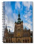 St  Vitus Cathedral In Prague Spiral Notebook