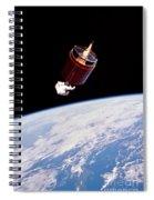 Stabilizing Spacecraft Spiral Notebook