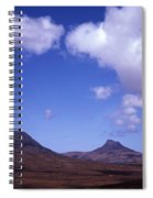 Stac Pollaidh Inverpolly National Nature Reserve Wester Ross Scotland Spiral Notebook