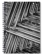 Stacked Barriers 0533 Spiral Notebook
