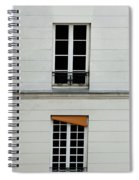 Stacked French Windows Spiral Notebook