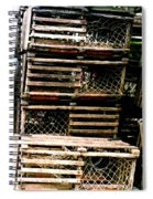 Stacked Traps Spiral Notebook