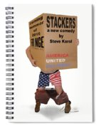 Stackers Poster Spiral Notebook