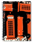Stacking The Double Deckers Spiral Notebook