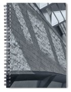 Stadium Abstract Spiral Notebook