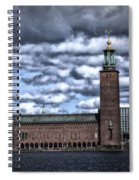 Stadshuset Color II Spiral Notebook