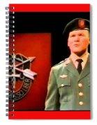 Staff Sergeant Barry Sadler Singing On National Tv - Ed Sullivan Show 1966-2016 Spiral Notebook
