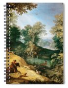 Stag Hunt Spiral Notebook