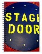 Stage Door Spiral Notebook