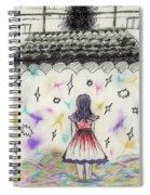 Stage Fright Spiral Notebook