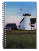 Stage Harbor Light Cape Cod Spiral Notebook