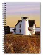 Stage Harbor Lighthouse Chatham Spiral Notebook