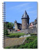 Stahleck Castle In The Rhine Gorge Germany Spiral Notebook