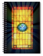 Stain Glass Spiral Notebook