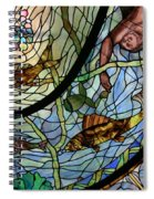 Stain Glass Set 1 - Bath House - Hot Springs, Ar Spiral Notebook
