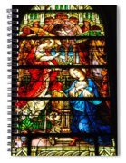 Stained Glass - Cape May Spiral Notebook