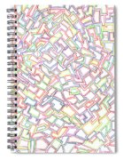 Stained Glass 2 Spiral Notebook