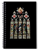 Stained Glass At St. John's Spiral Notebook
