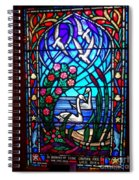 Stained Glass Beauty #20 Spiral Notebook