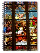 Stained Glass Beauty #38 Spiral Notebook