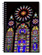 Stained Glass Beauty #46 Spiral Notebook