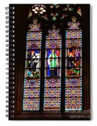 Stained Glass Glory Of St Patricks Spiral Notebook