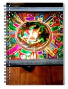 Stained Glass Table Spiral Notebook