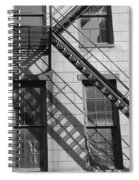 Stair Shadows Spiral Notebook