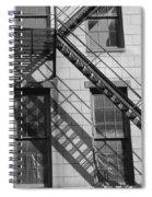 Stair Shadows Spiral Notebook