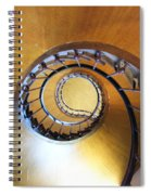 Staircase At Azay Le Rideau Spiral Notebook