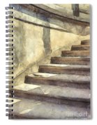 Staircase At Pitti Palace Florence Pencil Spiral Notebook
