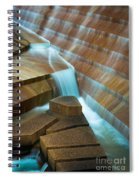 Staircase Fountain Spiral Notebook