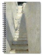 Staircase In Capri Spiral Notebook
