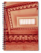 Staircase In Red Spiral Notebook