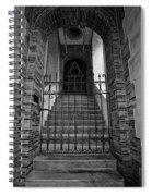 Stairs Beyond B-w Spiral Notebook