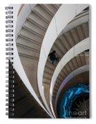 Stairs  Bruininks Hall University Of Minnesota Campus Spiral Notebook