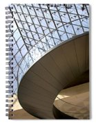 Stairs In Louvre Museum. Paris.  Spiral Notebook