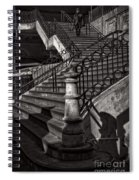 Stairs In The Markethall  Spiral Notebook
