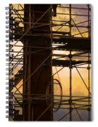 Stairs Lines And Color Abstract Photography Spiral Notebook