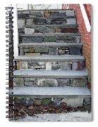 Stairs To The Plague House Spiral Notebook