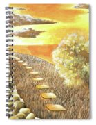 Stairs Towards The Horizon Spiral Notebook