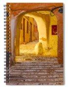 Stairway Inside Beni Isguen Spiral Notebook