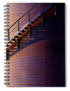 Stairway Abstraction Spiral Notebook