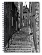 Stairway In France Spiral Notebook