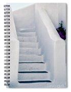 Stairway In Mykonos Spiral Notebook
