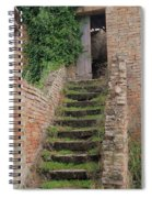 Stairway Less Traveled Spiral Notebook