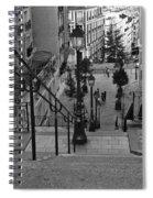 Stairway On Montmartre Spiral Notebook