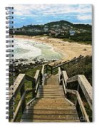 Stairway To Beach Spiral Notebook